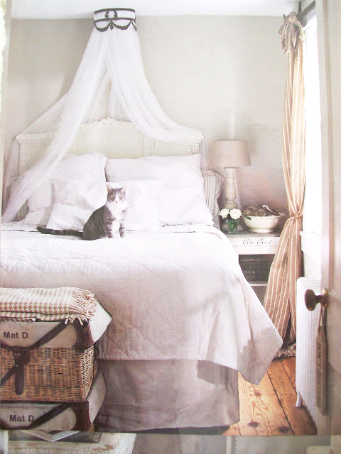 bed canopy | this french farmhouse