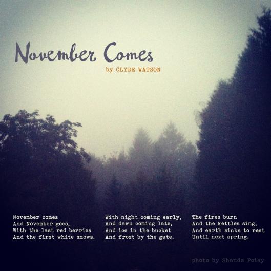 November Comes