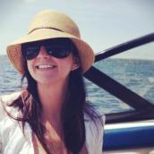 Enjoying the sun on Lake Washington, July