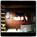Popping Champagne to celebrate my new office in Pioneer Square.
