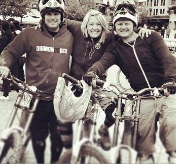 Biking at Whistler.