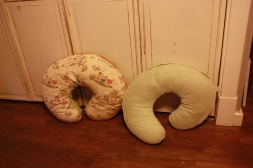 $8 each. Two Bobby nursing pillows with washable covers.